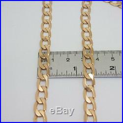 Fabulous 9ct Gold Hallmarked 20 Heavy Curb Link Chain. Goldmine Jewellers