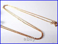 Fine Quality Victorian 9ct Gold Seed Pearl Pendant/brooch & Chain