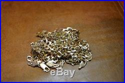Gold Curb Chain, Not Scrap, 9CT GOLD 90g