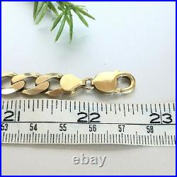 HEAVY 9ct SOLID GOLD CURB CHAIN MEN'S 66.2g
