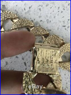 Hallmarked 9 ct solid gold mens chain 400 G Heavy Curb Chain