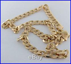 Hallmarked 9ct Gold Heavy Italian Curb Chain 20 48.5 G RRP £1705 WY13