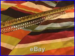 Hallmarked Solid 9 Ct Gold Mens or Womens Curb Chain
