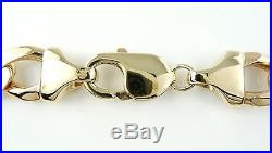 Heavy 9ct Gold Curb Chain (67g) 21 Hallmarked Necklace 9k 375