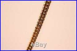 Heavy 9ct Gold Mens Polished Chain 24.69 grams. We are a shop