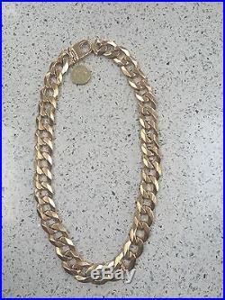 Heavy 9ct gold chain