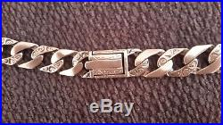 Heavy 9ct gold chain superb 87.9 gms