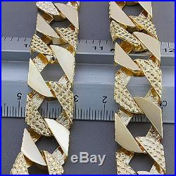 Heavy Hallmarked 9ct Gold Large Solid Curb Chain 152.1 G 30 RRP £6050 C168 30