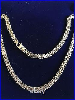 Heavy Quality Solid 9ct Gold Mens or Ladies Necklace Chain Mint Con 58grms