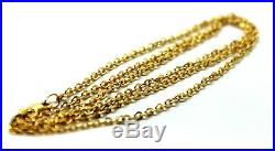 LAST ONE! 9CT YELLOW GOLD BELCHER CHAIN NECKLACE 70cm 4grams -Free express post