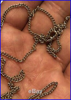 LONG 9ct Gold 24 Inch Chain Necklace Fully Hallmarked