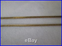 Ladies Fine Strong 9ct Gold Chain. 24 Inches. 4.8 Grams. Only 1 available now