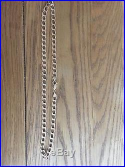Men's 9ct Gold Chain 33.6 Grams Stamped Italy