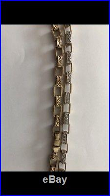 Mens 9ct Gold Chain 80g 24 Inches Long