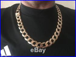 Mens 9ct gold chains