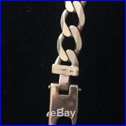 Mens Heavy 9ct Gold Curb Chain, 90 Grams, 23 Inch