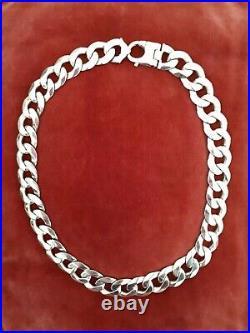 Mens heavy 9ct gold curb chain