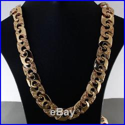 NEW Heavy 9ct Gold Large Anchor Chain 90.4 G 22.25 RRP £3600 C18