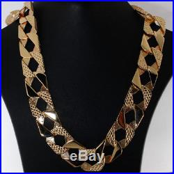 NEW Heavy 9ct Gold Solid Curb Chain 68 G 22 RRP £2745 C19 22