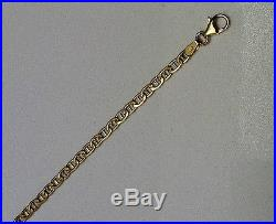 New 9ct Gold Fancy Link Chain Necklace 18 inch 3.5grams £139.99 Freepost