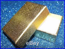 STUNNING SECONDHAND 9ct GOLD RUBY SET CROSS PENDANTON CHAIN 46cm