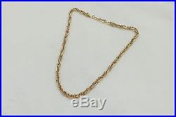 SUPERB HM 9ct GOLD MULTI LINK NECKLACE 38.8 g