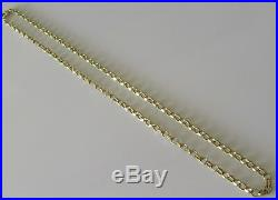 Secondhand 9ct Yellow Gold Belcher (9.1g) Chain Necklace Length 17 Inches