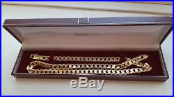 Solid 9ct Gold Curb Chain 66.7 Grams 24 Long