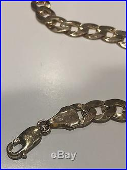 Solid 9ct gold chain 34grams