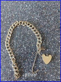 Solid 9kt gold bracelet