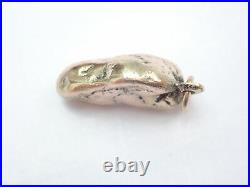 Solid Gold Nugget Pendant No Chain Not Scrap 6.3gms #120