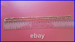 Stunning 2ndhand 9ct Yellow Gold 22 / 56cm Fancy Link Guard Chain