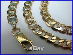 Stunning 9ct Gold 18.5 Curb Chain