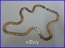 Stunning 9ct Gold 20 Curb Chain