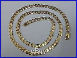 Stunning 9ct Gold 20 Curb Chain
