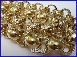 Stunning 9ct Gold 24 Round Belcher Chain Normal price £2499 Our price £2250