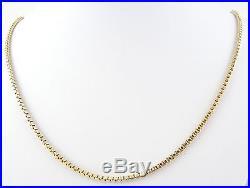 Stunning 9ct Gold Box Chain (28.1g) 30 Hallmarked Necklace 9k 375