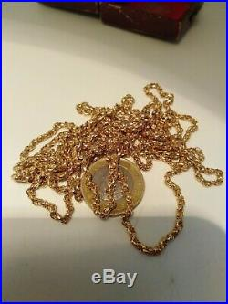 Stunning Victorian 9ct Gold Muff Chain Necklace Fancy Link