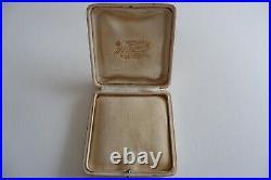 Suffragette Art Nouveau 9ct Gold Pendant, 9ct Gold Chain C1890's, Box, 3.90g