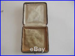 Suffragette Art Nouveau 9ct Gold & Silver Pendant & Chain C1895, Period Box