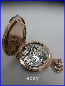 Superb 1881 Agassiz 18 ct Rose Gold pocket watch & 9ct Rose Gold Albert chain