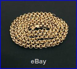 Superb 9ct Gold 30 Belcher Neck Chain 3729