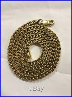 UK 9ct Gold Italian Franco Chain 26 5.5mm 42.7g Weight. RRP £1250