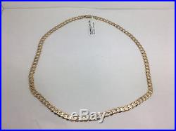 Unisex 9ct Gold 14.79g Curb Necklace 47894/140