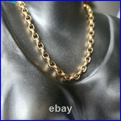 VINTAGE 9ct Yellow Gold Belcher Chain 19 30.37gr
