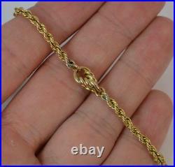 Victorian 41 Long 9ct Gold Guard / Muff Pocket Watch Chain