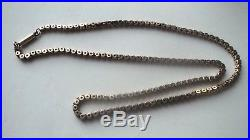 Victorian 9ct Gold Chain / Necklace / Choker c. 1880/90s Stamped 9c