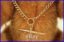 Victorian 9ct Gold Double Albert Watch Chain / Necklace / Bracelet. NICE1