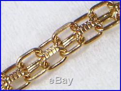 Vintage 9ct Gold. 48 carat 16 Diamond Set Necklace Pendant & Chain circa 1980's