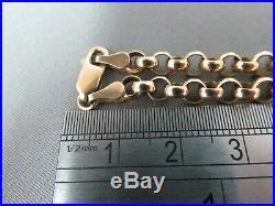 Vintage 9ct Gold Belcher Chain. 24 1/2. 10.26 G. Ref xbfbd